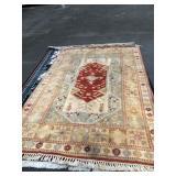 "https://www.ebay.com/itm/114119718605 LAN737: Antique Middle Eastern Area Rug Hand Lund 117"" X 78"""