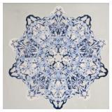 https://www.ebay.com/itm/124087494227 ML3059: Connor McManus Art: Blue Blot Mandala Giclee, Acrylic,