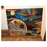 """https://www.ebay.com/itm/114119710199ML3077: Connor McManus Art: Entropic Cosmos #2 16"""" X 20"""" Local"""