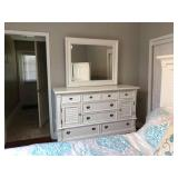 PA012 Chest of Drawers with Mirror $145, Bed Frame $125, Mattress $100, Comforter $20 . We will not