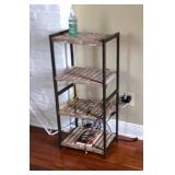 PA040 4 Level Wood and Metal Shelf $35 . We will not hold unless Paid for Venmo @Rafael-Monzon-1 Pay