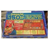 https://www.ebay.com/itm/124139729103 BOX074A VINTAGE  1970s SCIENCE FAIR 150 IN ONE ELECTRONIC PROJ