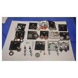 https://www.ebay.com/itm/114173848796 BOX074AC COSTUME JEWELRY LOT OF FIFTEEN PIERCED EARRINGS  $20.