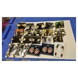 https://www.ebay.com/itm/124142920490 BOX074AF COSTUME JEWELRY CLIP ON EARRINGS LOT OF TWENTY BOX 74