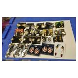 https://www.ebay.com/itm/114171610891 BOX074H COSTUME JEWELRY CLIP ON EARRINGS LOT OF TWENTY $30 LOT
