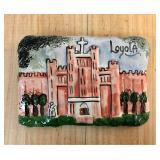 https://www.ebay.com/itm/114176779974 KB0097: Loyola University on Plaster by Jenise $10
