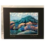 https://www.ebay.com/itm/114166292985 LAN9947: Wayne E Reyolds Hood Mountain Print Art $65 Local Pic