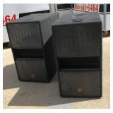 https://www.ebay.com/itm/124118020854 DM3003: (2) JBL MP255S MPro 200 Series 2x15 500W Subwoofer Spe