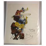 "https://www.ebay.com/itm/124124657724 LAN0808: Leo Meiersdorff Jazz Print 10""X12.5"" Local Pickup $25"
