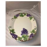 https://www.ebay.com/itm/114160157940 LAN9962: Serving Platter with Grapes $10