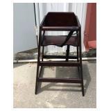 https://www.ebay.com/itm/114186834462PA031: Wood High Chair $45