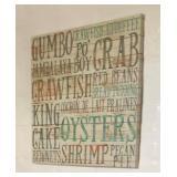 https://www.ebay.com/itm/114188029284PA049 Gumbo, Crab Fish Hanging Wall Art $35
