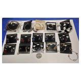 BOX074Ah COSTUME JEWELRY LOT OF FIFTEEN PIERCED EARRINGS $20.00  LOT #5https://www.ebay.com/itm/114