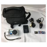 https://www.ebay.com/itm/114171691950KB0054: Panasonic Lumix Digital Camera DMC-TZ1 with cords, sd