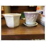 https://www.ebay.com/itm/124141907652KB0055: White Octagonal Pot and Gradient Rose Pot, $20
