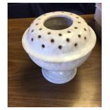 https://www.ebay.com/itm/124141909980KB0057: Signed Flower Frog Pottery, Flower Arrangement Holder