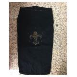 https://www.ebay.com/itm/124141934149KB0066: Bedazzled Dog Clothing Mardi Gras Fleur De Lis Large (