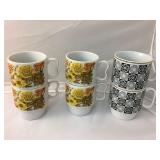 https://www.ebay.com/itm/114195008642	BR010: Vintage Stackable Coffee/Tea Mugs set of 4 and set of 2