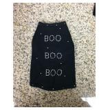 "https://www.ebay.com/itm/124141935668	KB0067: Bedazzled Dog Clothing ""BOO"" Small  $10 Free Shipping"