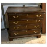 https://www.ebay.com/itm/114145607487	LAN779: Councill Chippendale Four Drawer Mahogany Chest W/ Pul