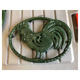 LAN0811: Rooster Trivet Local Pickup $5 Pay online by Venmo: @Rafael-Monzon-1, PayPal Email: Agesago
