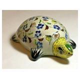 https://www.ebay.com/itm/114199940707JX001: ACAPULCO PRINCESS MEXICO SOUVENIR CERAMIC TURTLE HAND P
