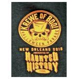 https://www.ebay.com/itm/114199942330JX005: KREWE OF BOO! HALLOWEEN PARADE NEW ORLEANS 2018 SIZE M