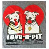 https://www.ebay.com/itm/114199942333JX008: LOVE-A-PITBULL FOUNDATION FOUNDATION GREY SHIRT SIZE M
