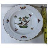 https://www.ebay.com/itm/114204385610LAN9810: Herend Hungary Hand Painted Plate 2 Birds 1518 Ro 16