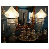 Cut Crystal Lamps