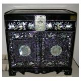 Jewelery chest - mother of pearl