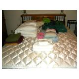 Towels, sheets, blankets