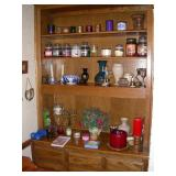 Candles and decorative items