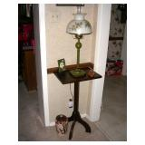 Candle stand and lamp