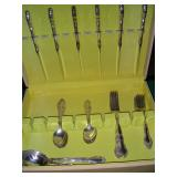 Sterling flatware - not kept in the home