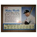 Mickey Mantle 1962 Post Cereal