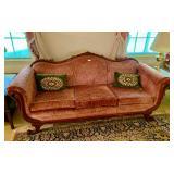 Swan Neck Antique Sofa