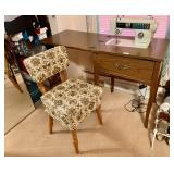 Vintage Sewing Cabinet and Chair