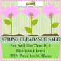 Spring Clearance Sale! Come Treasure Hunting With Us Again!
