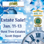 Join Us For Our First Sale Of The New Year In Beautiful Bent Tree Estates In Scott Depot!