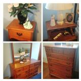 Heywood Wakefield Maple Bedroom Furniture