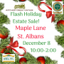 FLASH HOLIDAY ESTATE SALE! ONE DAY ONLY! IT ALL HAS TO GO!
