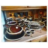 Pfaltzgraff Brown Drip Stoneware