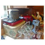Enamelware & Vintage Toaster