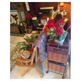 Rolling Oak Desk Chair