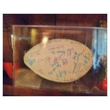 WVU Signed Football From Fiesta Bowl!