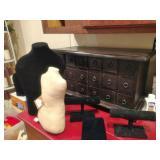 Nice Antique Desk Top Apothecary
