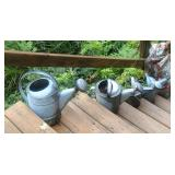 Lots Of Galvanized Watering cans