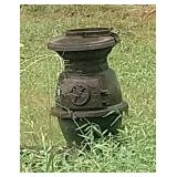 Old Pot Bellied Stove