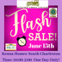 FLASH ESTATE SALE! ONE DAY ONLY! Kenna Homes, South Charleston!